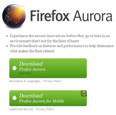 firefox11aurora