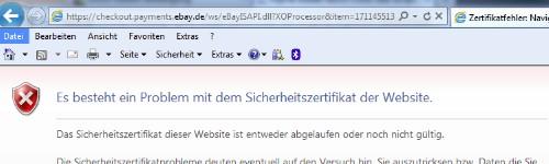 EbayZertifikat