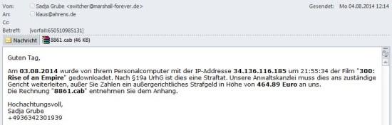 AbmahnungSchadcode20140804