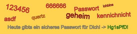 Passwort-Tag