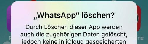 WhatsAppLoeschen