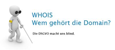 Domain Whois und die DSGVO, Wem gehört die Domain