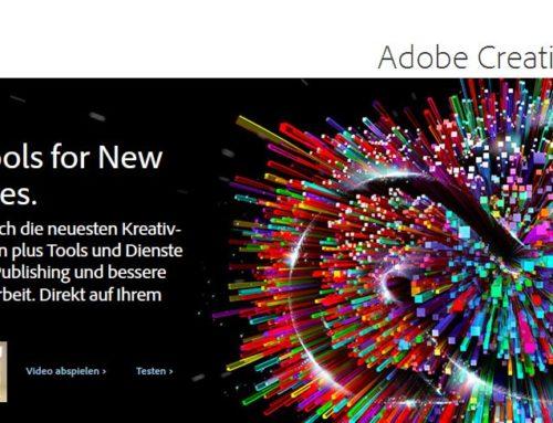 Adobe bringt einen Notfallpatch für Creative Cloud