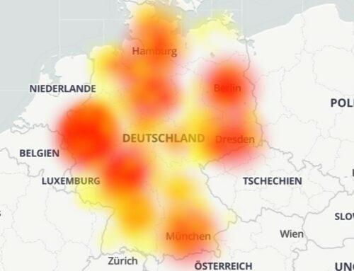 Massive Störung in Vodafones Mobilfunknetz