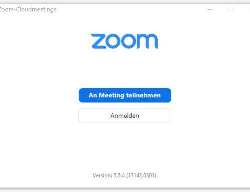 Das Ende des Zoom-Booms wird sichtbar